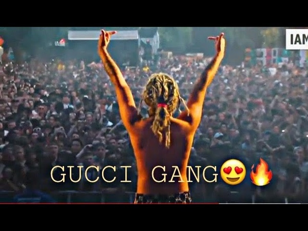 Gucci Gang🔥🔥live perform by lil pump 🔥crazy lit show