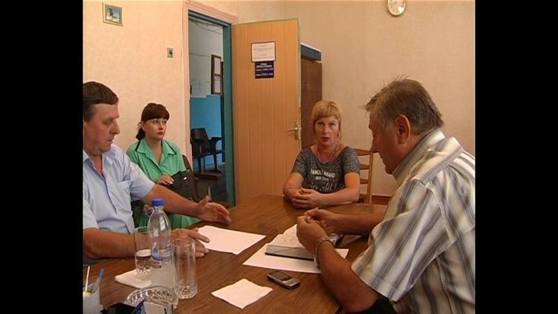 В селе Новокатериновка состоялся выездной прием первого заместителя главы администрации Старобешевского района Сергея Федоренко