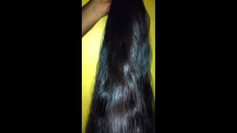Natural Indian virgin remy intact cuticle unprocessed temple human hair.