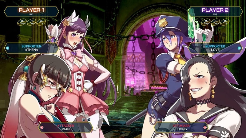 SNK HEROINES Tag Team Frenzy - Knockout Duo! Luong Mian! (Nintendo Switch, PS4)