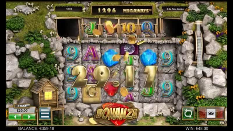 BONANZA SLOT BONUS_ How to win 1394 € in just 13 minutes _ Casino Bonus Terminat