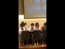 Jun (UNB) fancam @Fansign Event at Ferrum Hall in Ferrum Tower ( 28.07.18)