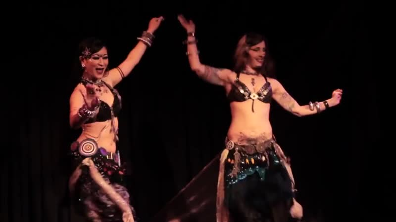 Kami и Kae - Menage Part Two - Tribal Style Belly Dance