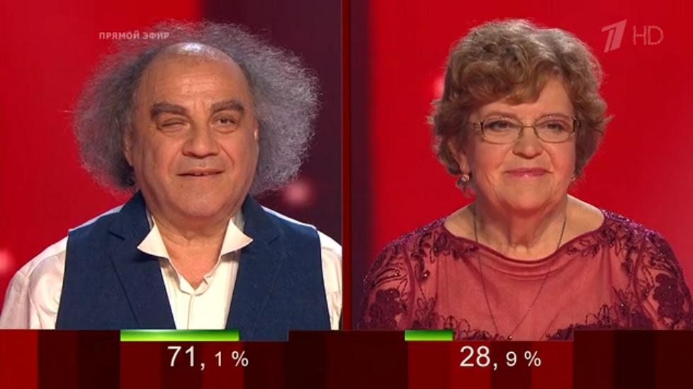 Сергей Манукян и Наталия Спевак Голос 60 плюс