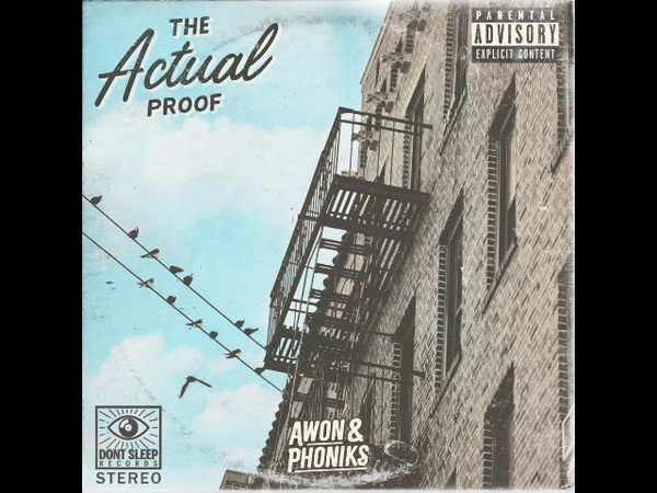 Awon Phoniks The Actual Proof Full Album