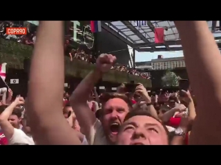 England celebrations #ф2018