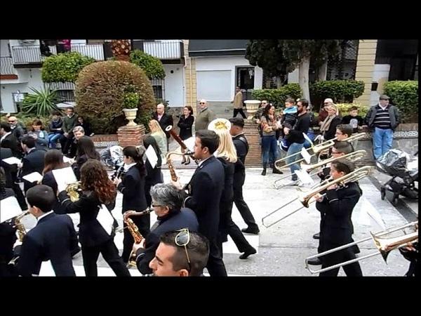 Domingo de Ramos 2018 marcha CALLEJUELA de la O Pollinica ALHAURIN de la TORRE 25 03