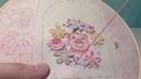 МК по вышивке Хрюндель в цветах ч 7 вышиваем ягодки