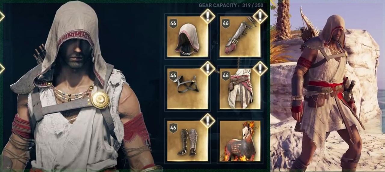 Набор легендарной брони Пирата в Assassin's Creed Odyssey