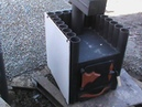 Испытание конвекционная печка Бриз с отделкой керамогранитом.Топка печки березовыми дровами. .
