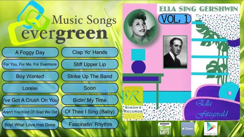 Ella Fitzgerald -- Ella Sings Gershwin Vol 1 to 2 Full Album
