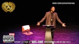 2 Hiphopcore Special Hiphop lecture by KRS-ONE in Amsterdam part two