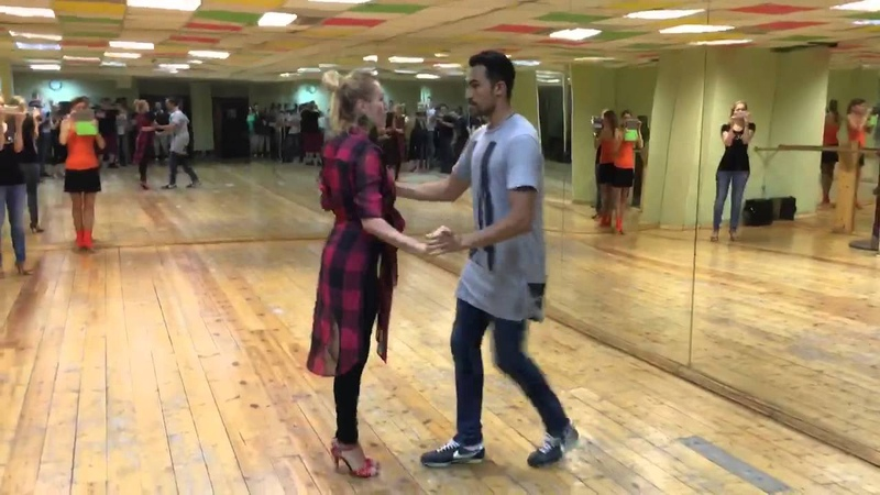 Greet footwork or simply Salsa Colombiana forme world champions Evgeny and Kristina Lisunovy!