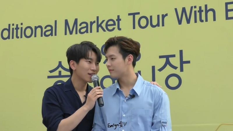 [FANCAM] 10.07.2018: Ынкван и Минхёк @ One Day Trip with BTOB in Gwangju