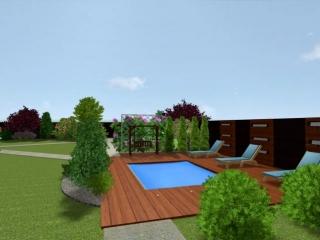 Проект сада. Ландшафтный дизайнер Степанова Мария