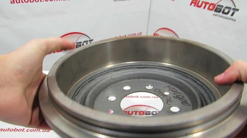 Тормозной барабан 7D0176 LPR для Renault Espace II Kango Express Renault 7700710511