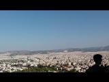 вид на Афины с акрополя