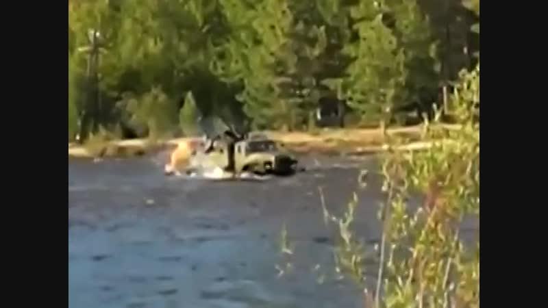 Переправа Урала через реку Баргузин
