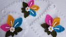 Orkide çiçekli yuvarlak lif modeli yapımı takım lif