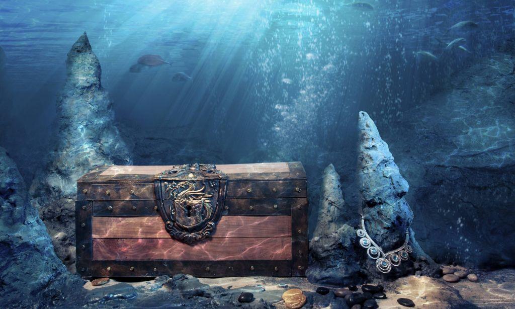 сокровища на дне моря