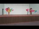 14.07.18. Шоу дуэт. Трубицына Олеся и Нина Колпачева. Отчетный концерт школы восточного танца Зафира.