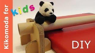 1 DIY ideas Cardboard Gymnastics Equipment for Kids HD
