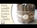 Come fare un Portacandele Riciclo Creativo | DIY decoration