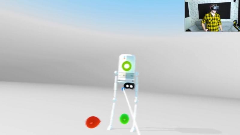 [Канал Глюка] Virtual Virtual Reality | Слишком много миров | HTC Vive VR | Упоротые игры