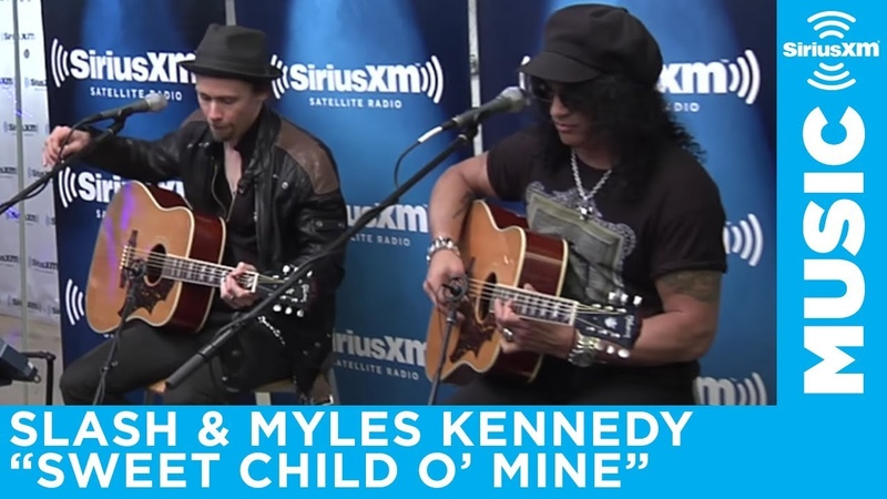 Slash Myles Kennedy - Sweet Child O' Mine (ACOUSTIC)   SiriusXM   Octane
