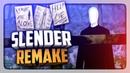 РЕМЕЙК СЛЕНДЕРА! СТРАШНО! ✅ Slender Remake v2.1 Remaster Прохождение