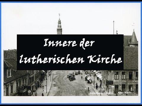 Интерьер лютеранской кирхи Инстербурга (фото)