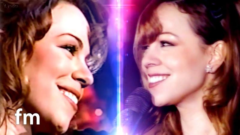 Mariah Carey - Hero (Jay Leno 93 Tokyo Dome 96) | A LEGENDARY DUET with Countless Harmonies