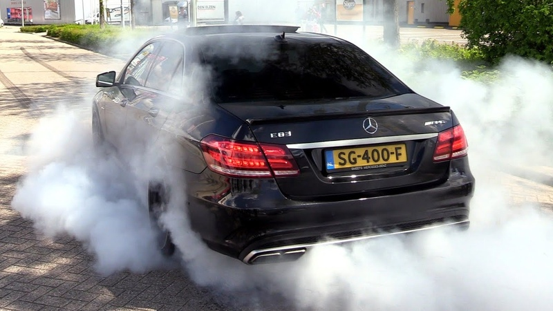 The LOUDEST Mercedes-Benz E500 V8 BiTurbo W212 EVER!!