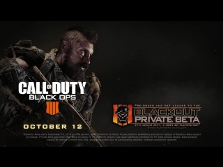 Call of Duty Black Ops 4 Blackout Battle Royale Trailer