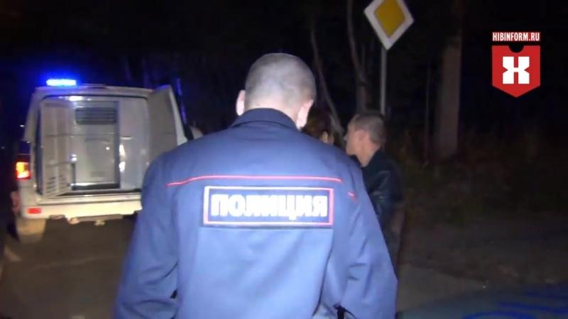 Задержание пьяного мотоциклиста переросло в драку