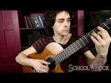 Преподаватель по классу акустической гитары Райлян Дмитрий Школа Рока