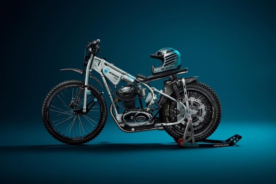 Wreckless Motorcycles: спидвейный кастом H4MM4