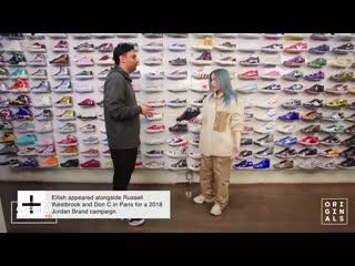 Сникершопинг с Билли Айлиш   Billie Eilish Goes Sneaker Shopping With Complex   ФРЕШМАН   Русская озвучка