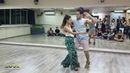 Felipe Garcia Erica Tintel, ZoukRUSH Jun 2018 at Zouk Dance Academy - Sun post-workshop demo
