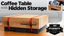 I Turned this Stack of Plywood into a Stack of Plywood! with hidden storage. Shhhh. | Woodworking
