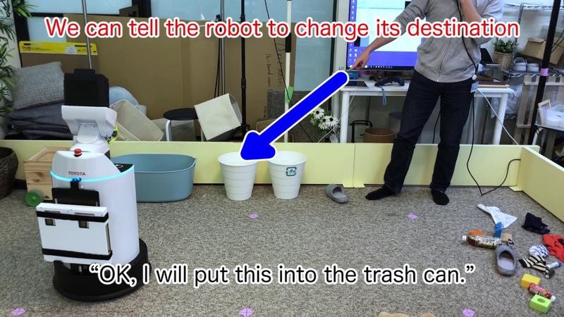 CEATEC Japan 2018 Autonomous Tidying-up Robot System