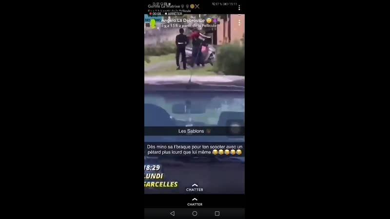 Un enfant âgé de 12 ans a braqué à laide dune arme à feu un livreur Uber Eats en pleine journée