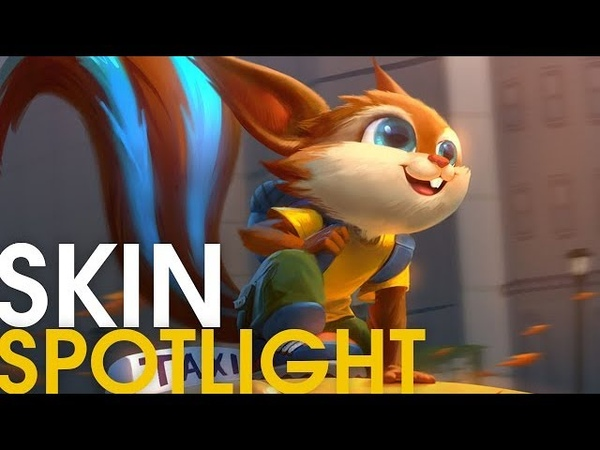 Curious Critter Ratatoskr Skin Spotlight