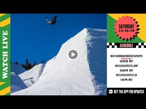 Day 3 2018 Dew Tour Breckenridge – Men's SB Modified Superpipe Men's Ski Slopestyle