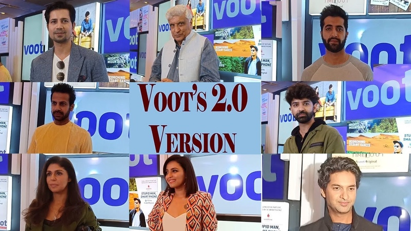 Celebs galore at the launch of Voot's 2.0 version