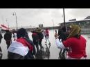 Футбольные фанаты у стадиона Санкт Петербург