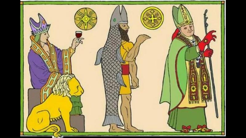 Ватикан - это сатанинская секта. (оккультно-языческие элементы).mp4