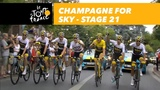 Champagne for Sky!- Stage 21 - Tour de France 2018