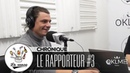 CAMULO JAMES LE RAPPORTEUR 3 LaSauce sur OKLM Radio 12 11 18 OKLM TV