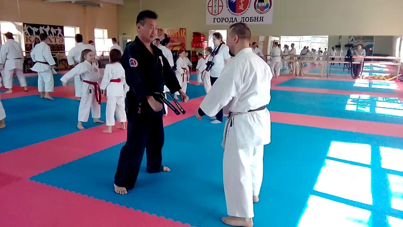Shiko dachi training seminar World Champion WKF Hoang Nguyen Ngan